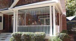 шторы для веранды фото