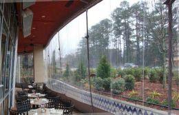 шторы на веранду на даче